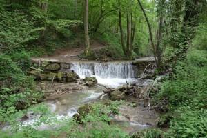 Seuil du canal de l'Oncion sur le Pamphiot -Allinges.