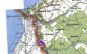 carte localisation prairies seches