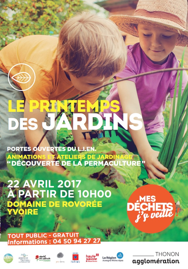 Printemps des jardins à Yvoire – Samedi 22 avril 2017